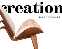 Website for Creation Hospitality