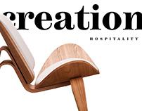 Website for Creation Hospitality