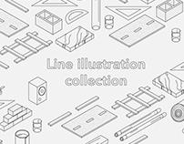 Line illustrations