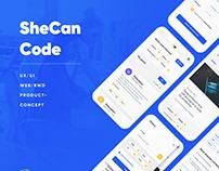 SheCanCode - web/mobile