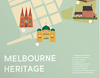 Melbourne Heritage Map