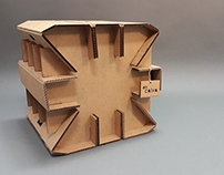 EmCaixa - A Cardboard Stool