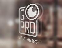 GoPro Logo Re-Design & Branding Identity