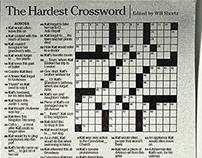 The Hardest Crossword