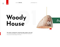 2019 - Woody House - Official Site Concept