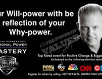 Your Will-power starts with your Why-Power! Personal Po