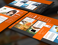 Free: The Orange – Blog & Magazine PSD Template