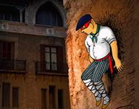 Cartel promocional campaña de euskara