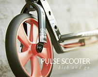 Pulse Scooter Kick and Go