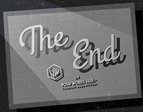 """End Credits """"The End"""" Title Backgrounds"""