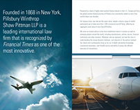 Pillsbury Aviation Finance Brochure