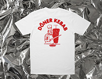 DÖNER KEBAB SHIRT Döuble sided silkscreen