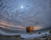 Shipwreck Moonlight