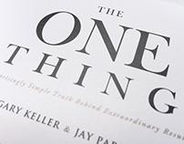 天下雜誌 - 成功,從聚焦一件事開始(Gary Keller,Jay Papasan 著 ) 書籍裝幀設計