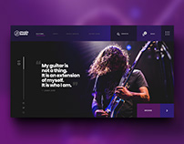 Music Beatz Website Concept