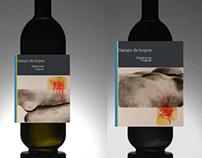 Diseño gráfico.  Etiquetado de vino