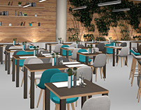 Restaurant 3D Visualization