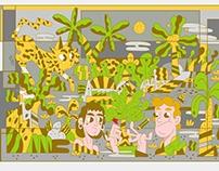 Ilustração Floresta