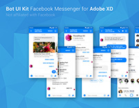 FREE Bot UI Kit Facebook Messenger (Adobe XD)
