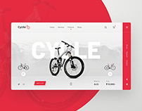 Cyclie UI design concept