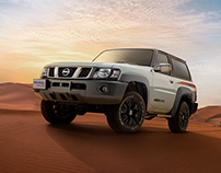 NISSAN PATROL SUPER SAFARI - RETOUCHING & COMPOSITION
