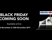 Black Friday Sale 2017 by Atlantic Electrics