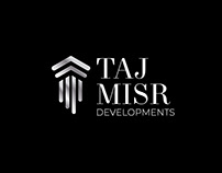 Taj Misr Logo Branding