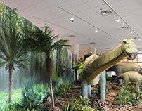 Dinosaur Exhibit Murals