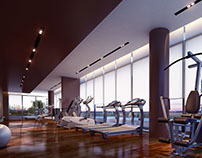 Gym rendering