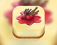 Cheesecakes App Icon