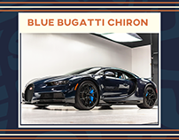 The Blue Bugatti Chiron