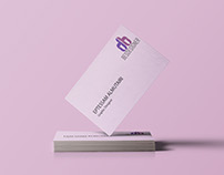 business card .