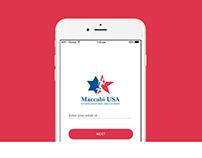 Maccabi USA, iOS App