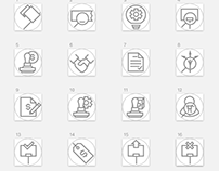 Workflow Icon Set