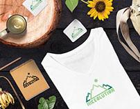 Hikeolution Logo Design