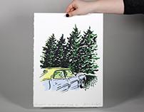 Printmaking: Lithography, Screen Print, Monoprint