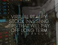 3 Virtual Reality Stock Investing Tips | Rick Garson