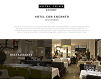 Hotel TRIAS / Website