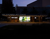 AT&T Performing Arts Center Experience Wall