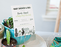 Baby Shower Branding/Styling