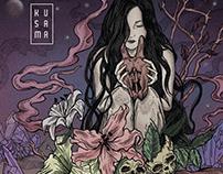 "Kusama ""An encounter with a dark flowering season"""
