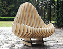 Terraform Chair - CNC Cut Organic Chair