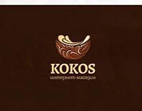 """Logo for the internet shop """"Kokos"""""""
