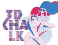 3D CHALK | Handmade Typeface