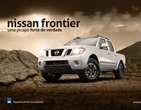 Nissan Frontier - Uma picape forte de verdade.