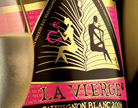 La Vierge Wine Label