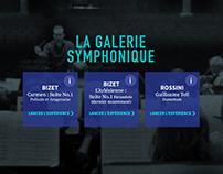 La galerie symphonique - Application mobile