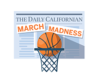 The Daily Californian March Madness Illustration