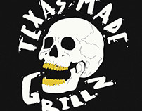 Texas Made Grillz Illustration