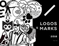 Logos & Marks 2018 Vol. 01